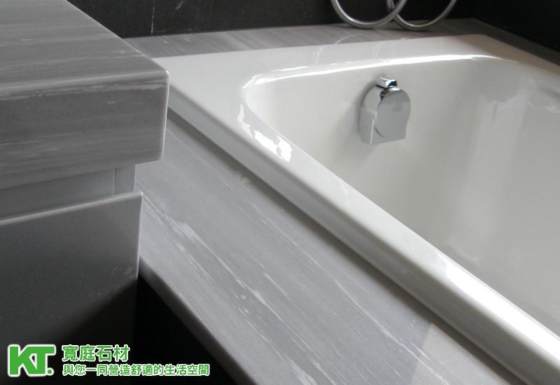 大理石浴室 石材水漾 宽庭石材室内装修与您一同营造舒适